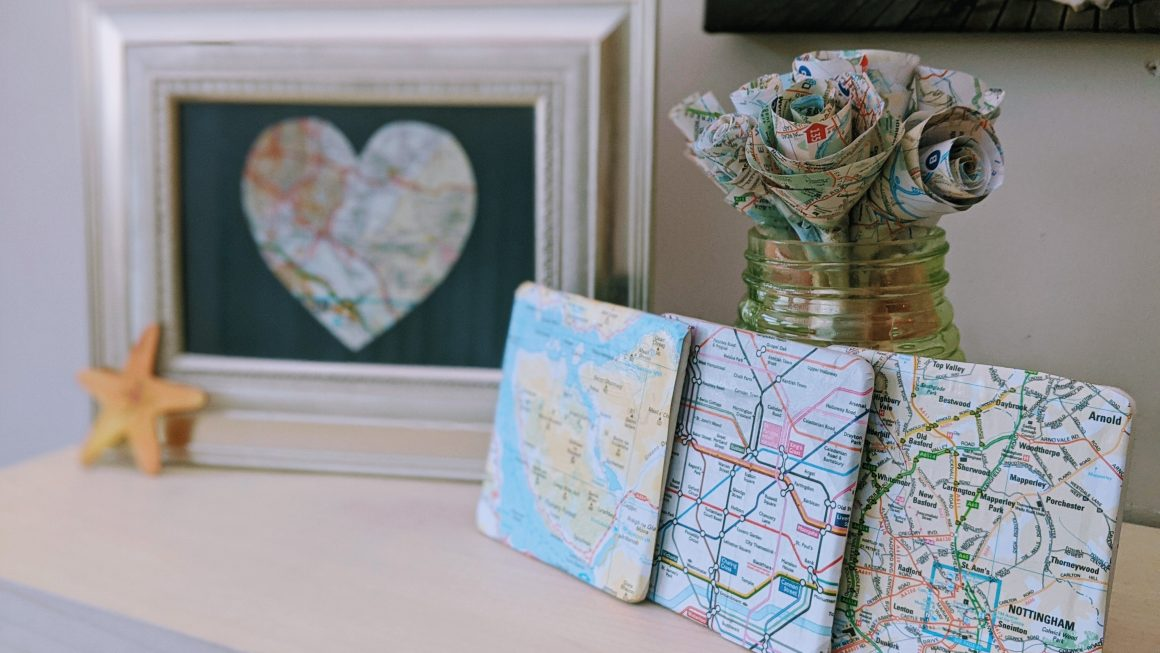 Pretty DIY Map Art: 6 Easy Projects You'll Love Making
