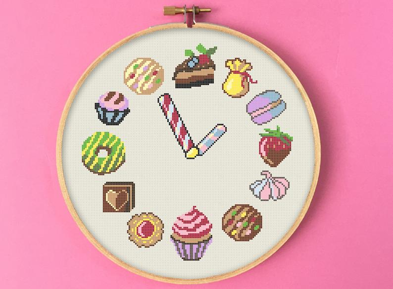 Sweet Time Cross Stitch Pattern