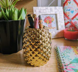 Pineapple Pen Pot