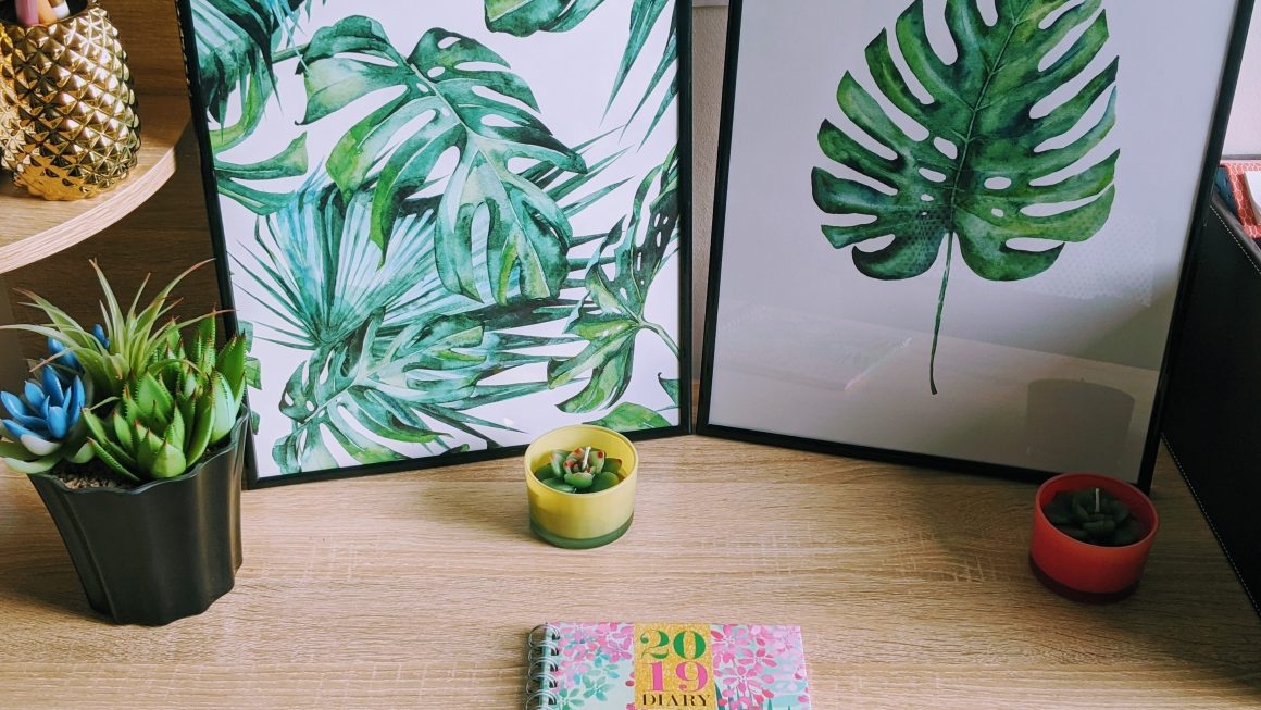 Tropical Themed Office: How To Bring The Outside IN!