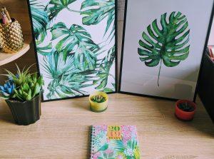 Tropical Print Art