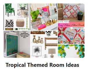Tropical Themed Room Pinterest Board