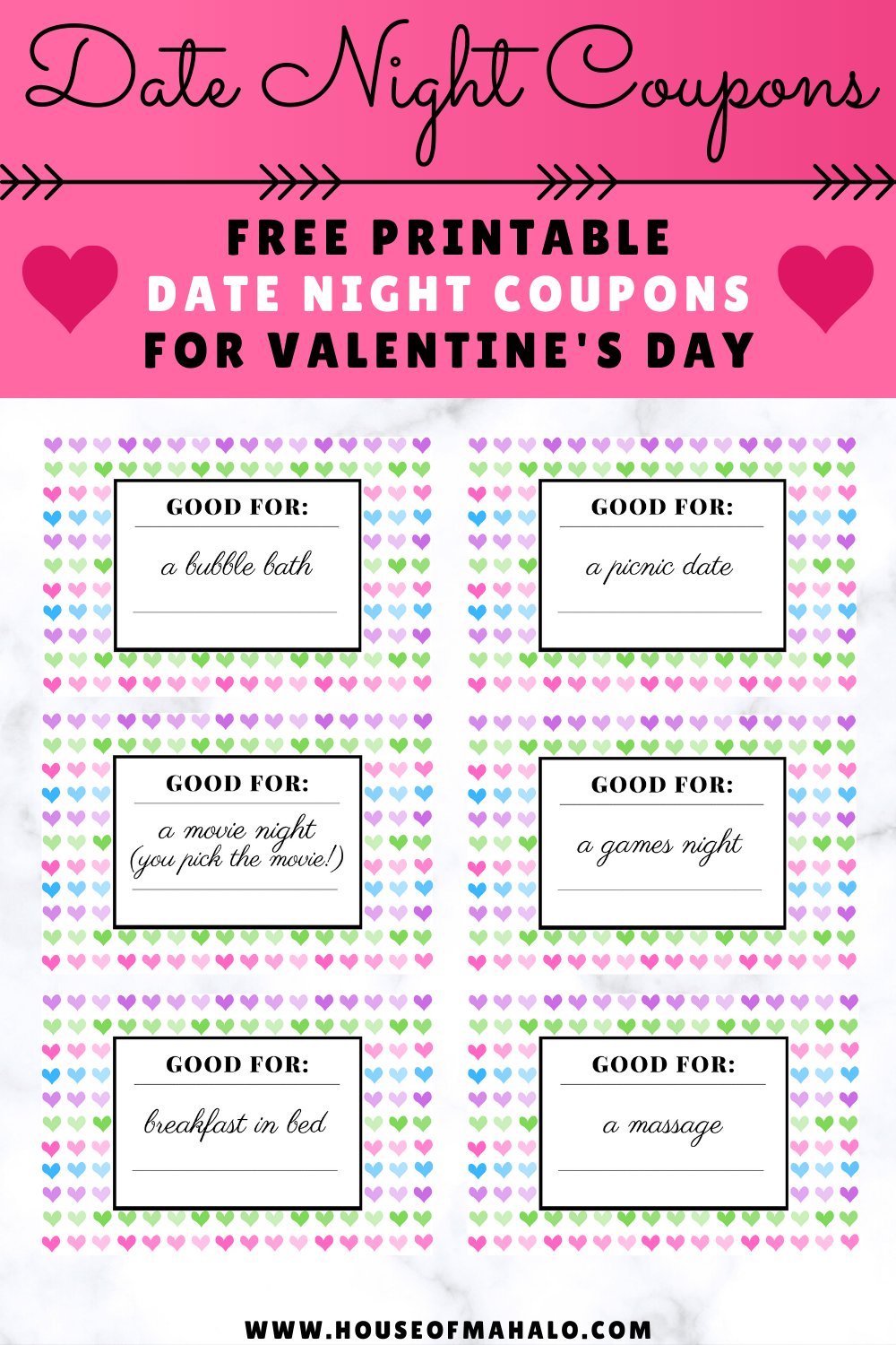 Free Printable Date Night Coupons