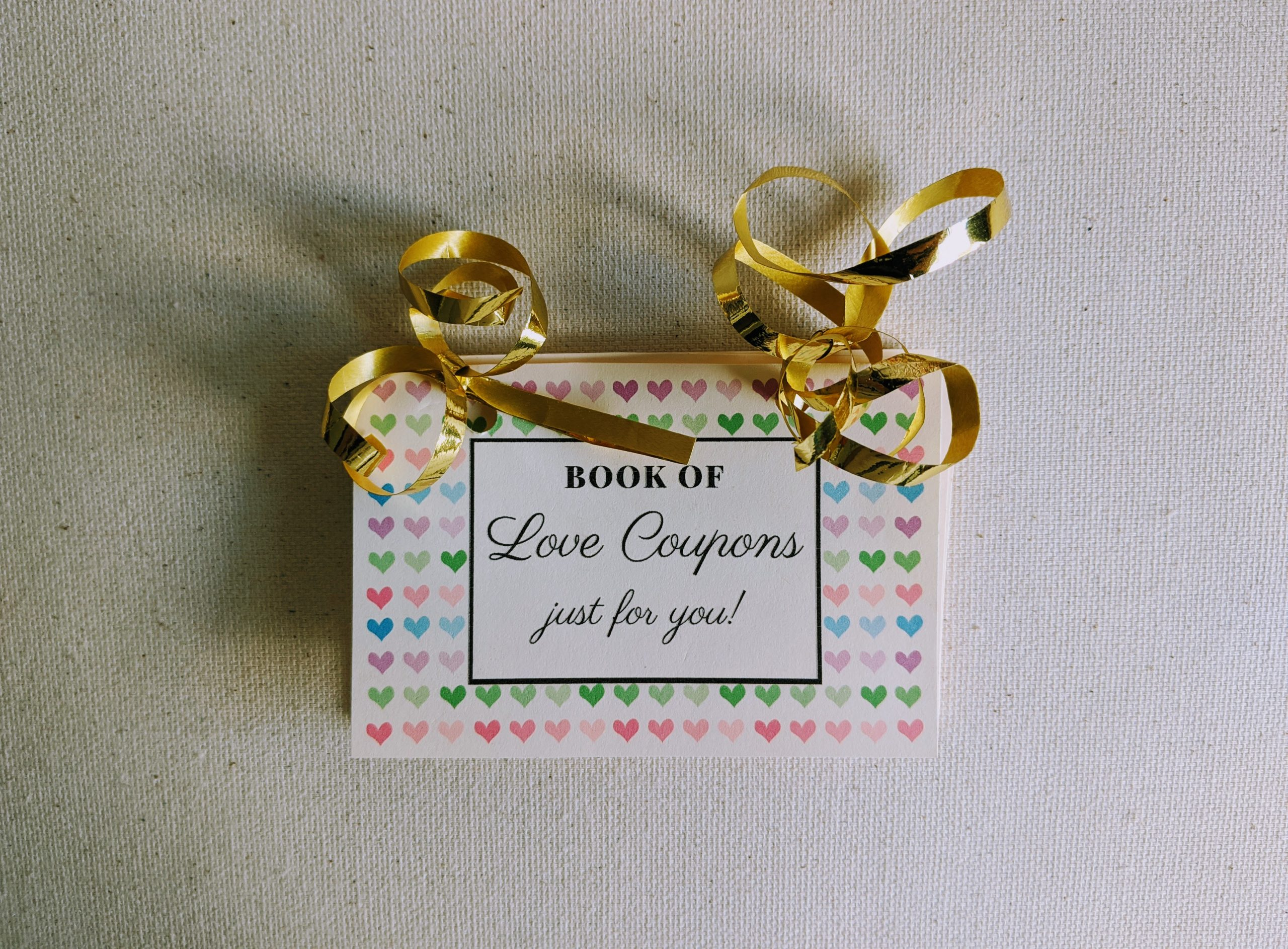 DIY Love Coupons Book