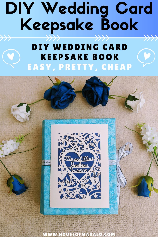DIY Wedding Card Keepsake Book