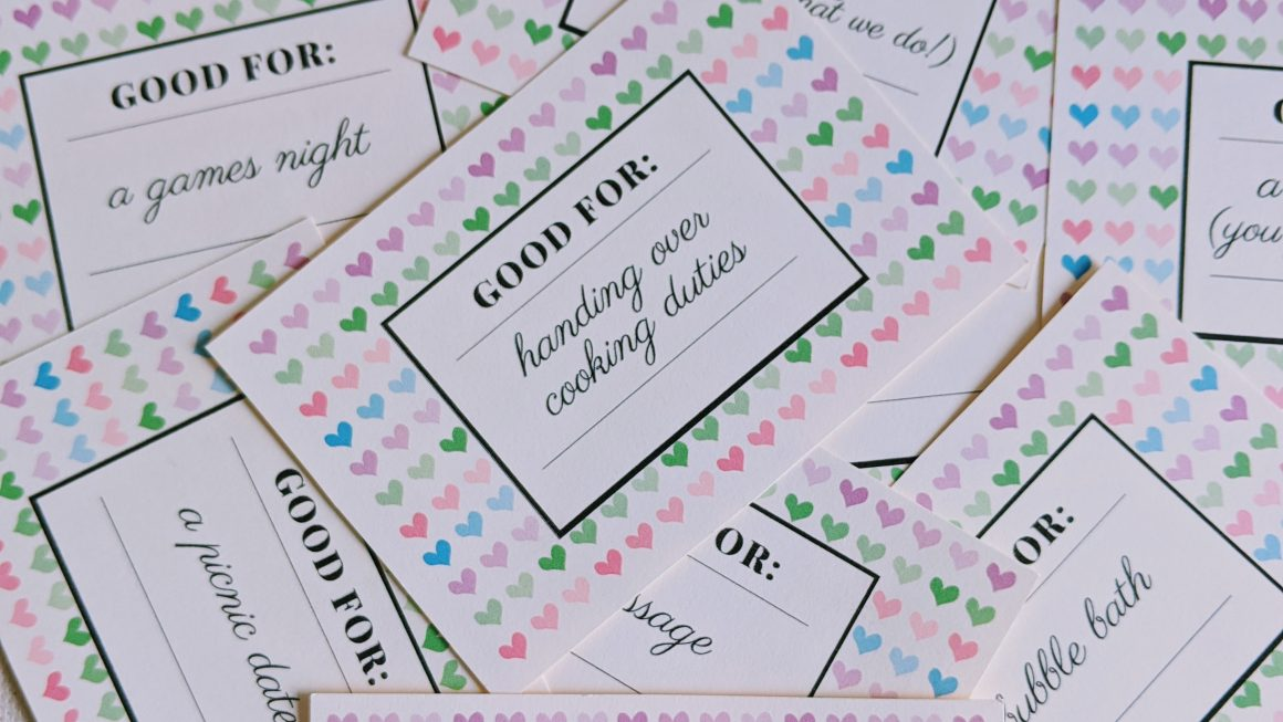 Free Printable Love Coupons | Date Night Coupons