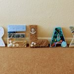 RELAX DIY Beach Sign Finished