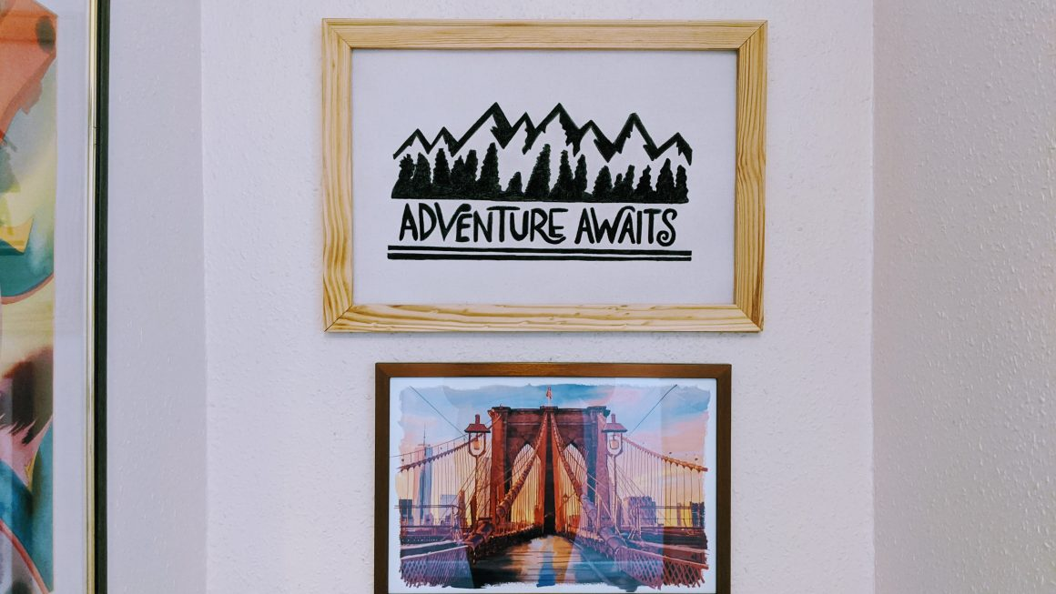 Adventure Awaits DIY Reverse Canvas Sign [Video]