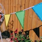 DIY Outdoor Bunting