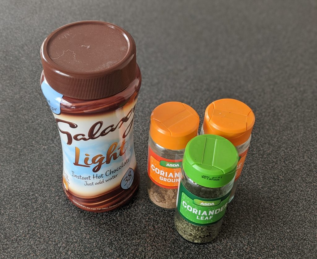 Repurpose spice jars as DIY apothecary jars
