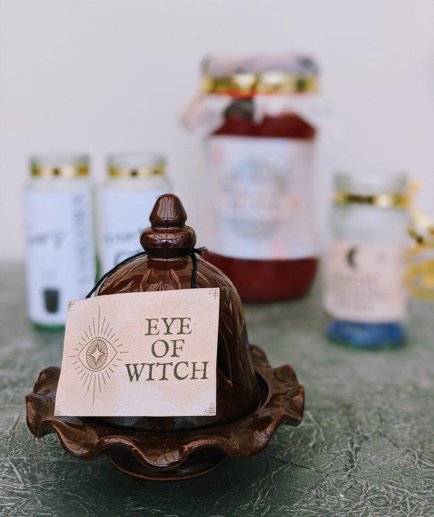 Temporary DIY apothecary jar (no glue)