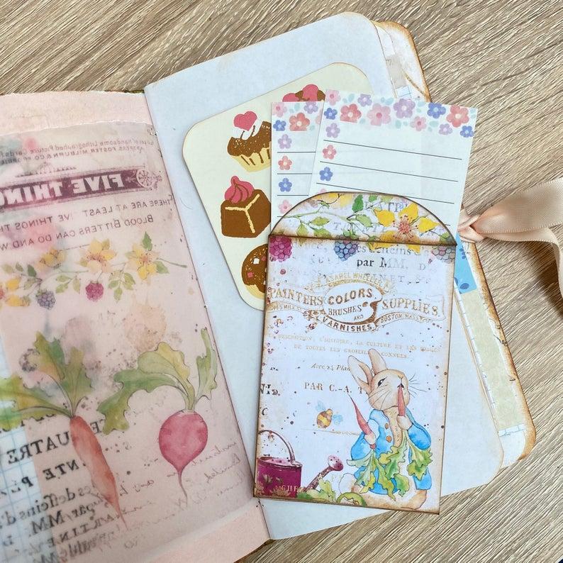 Peter Rabbit junk journal