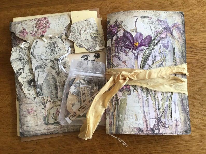 Sewn junk journal