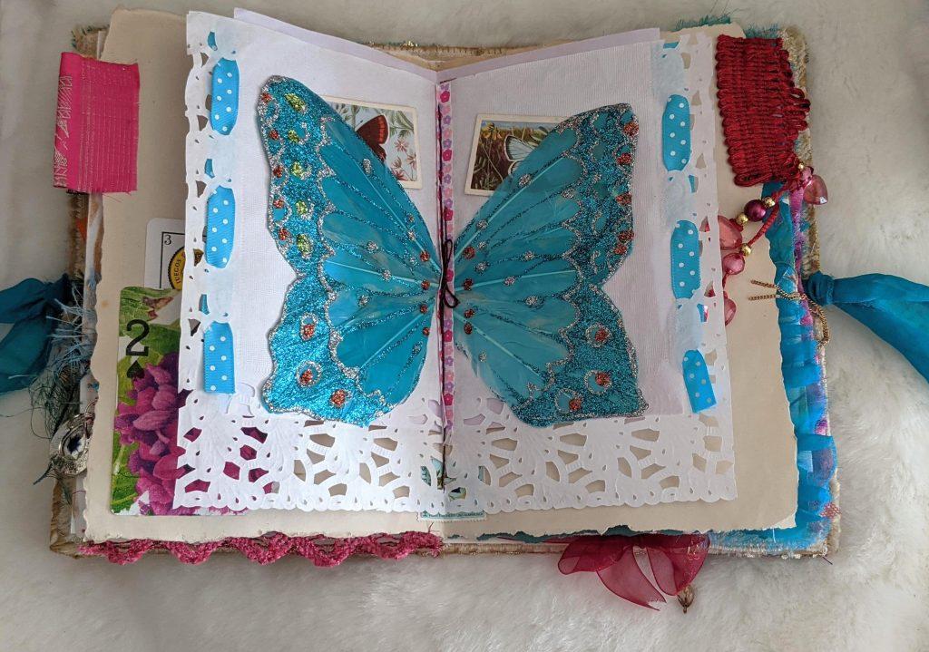 Botanical boho junk journal