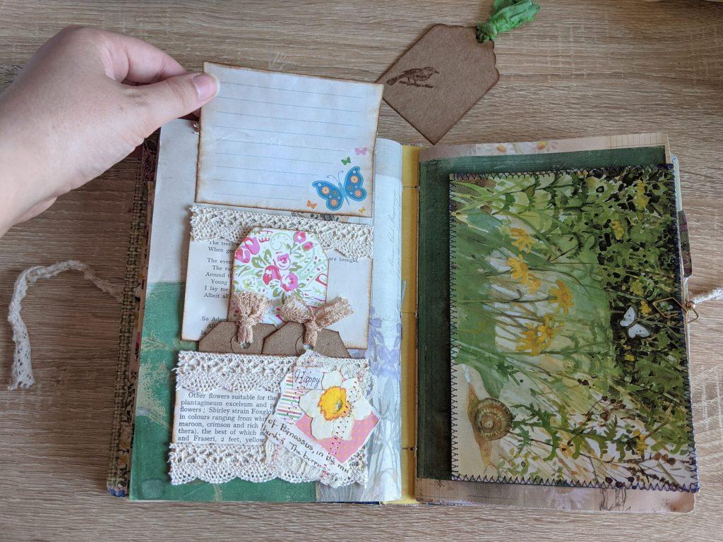 Hidden journaling spot example