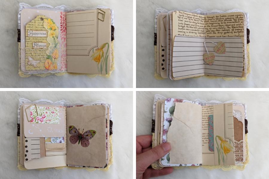Inside the inspire junk journal