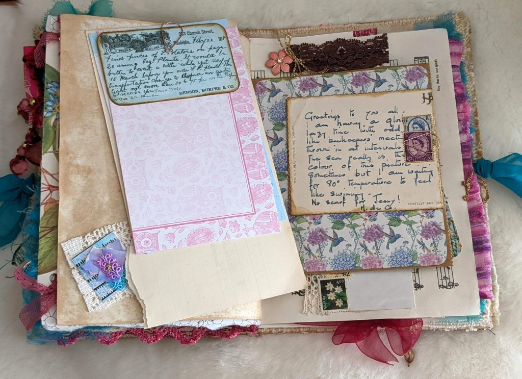 Junk journal embellishments