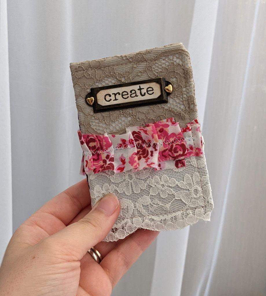 Mini Lace Junk Journal - Create Journal