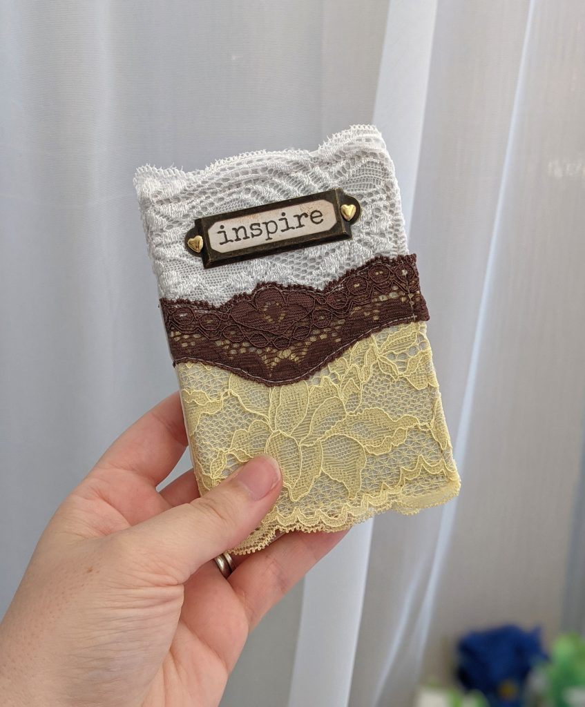 Mini Lace Junk Journal - Inspire Journal