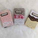 Mini Lace Junk Journals Flip Through