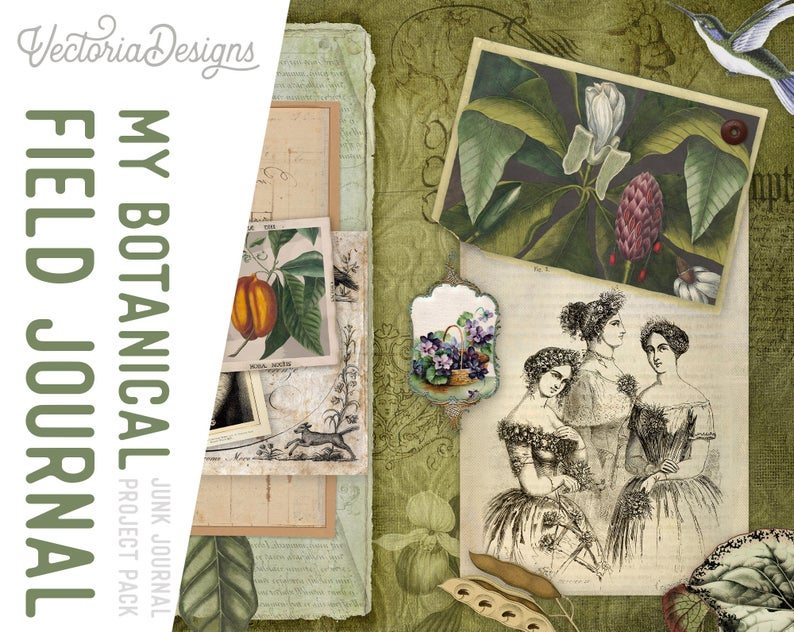 My Botanical Field by VectoriaDesigns
