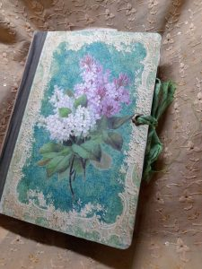 My botanical junk journal