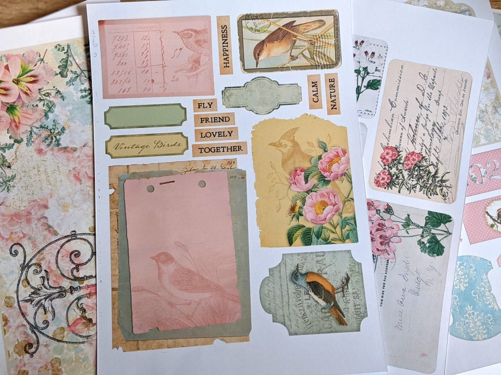 Recommended Junk Journal Printables (Tried & Tested!)