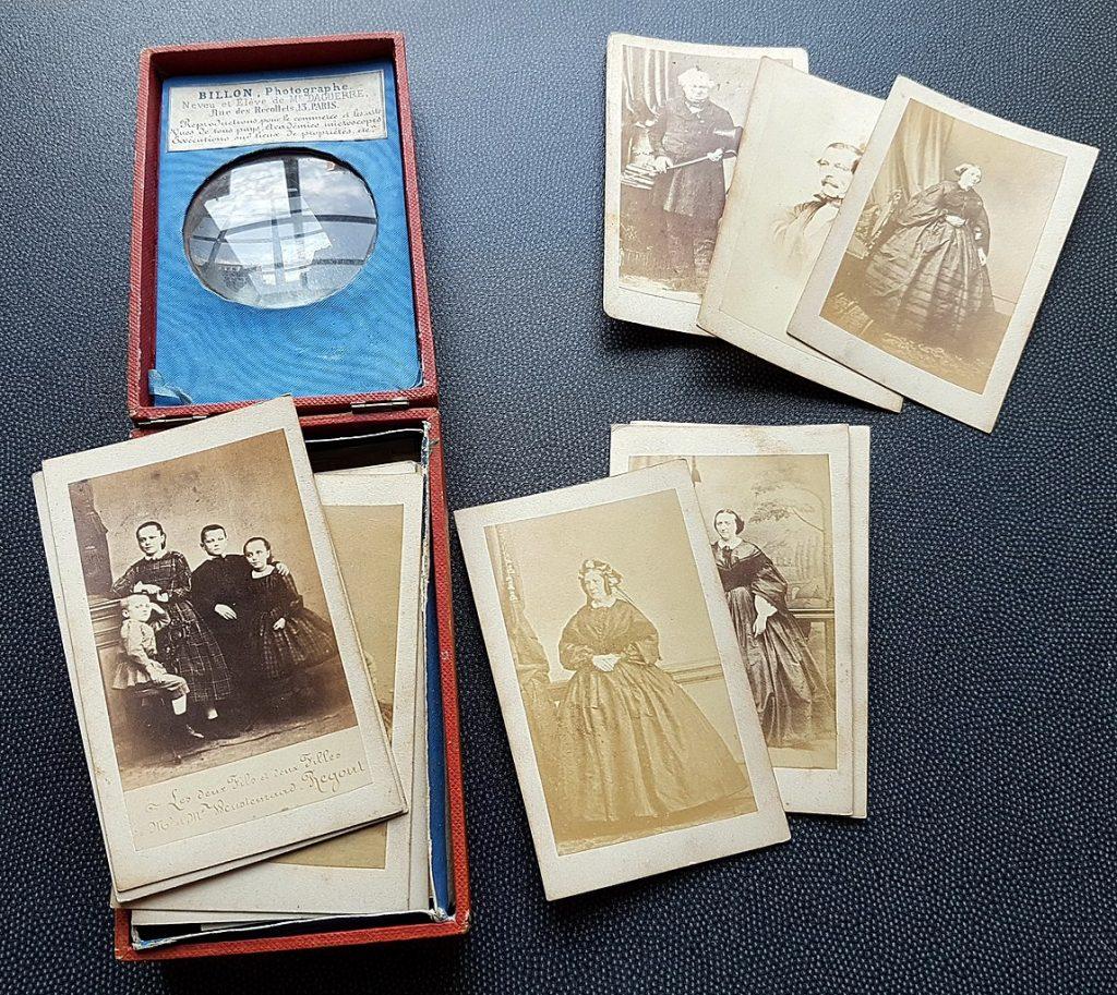 Vintage cartes de visite