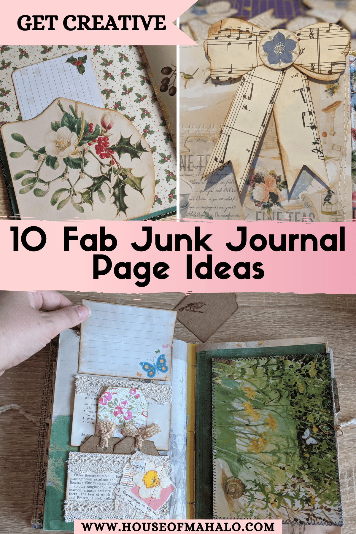 10 Junk Journal Page Ideas To Inspire You