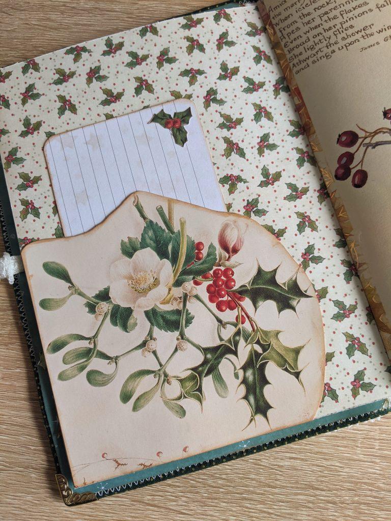 Pocket junk journal page idea